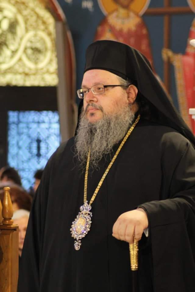 Ο Σεβασμιώτατος Μητροπολίτης Λαρίσης και Τυρνάβου κ κ. Ιερώνυμος