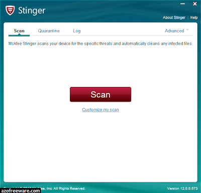 mcafee labs stinger portable