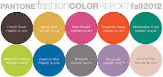 interior design colours autumn 2012