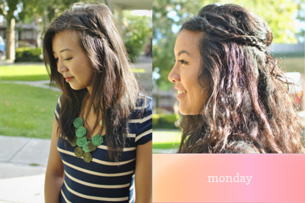 easy braided hair ideas