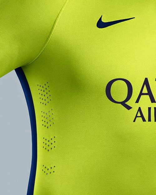 Barcelona Third Kit for 2014-15 Seasons