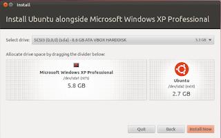 Cara Mudah Install Linux Ubuntu dual boot dengan Windows