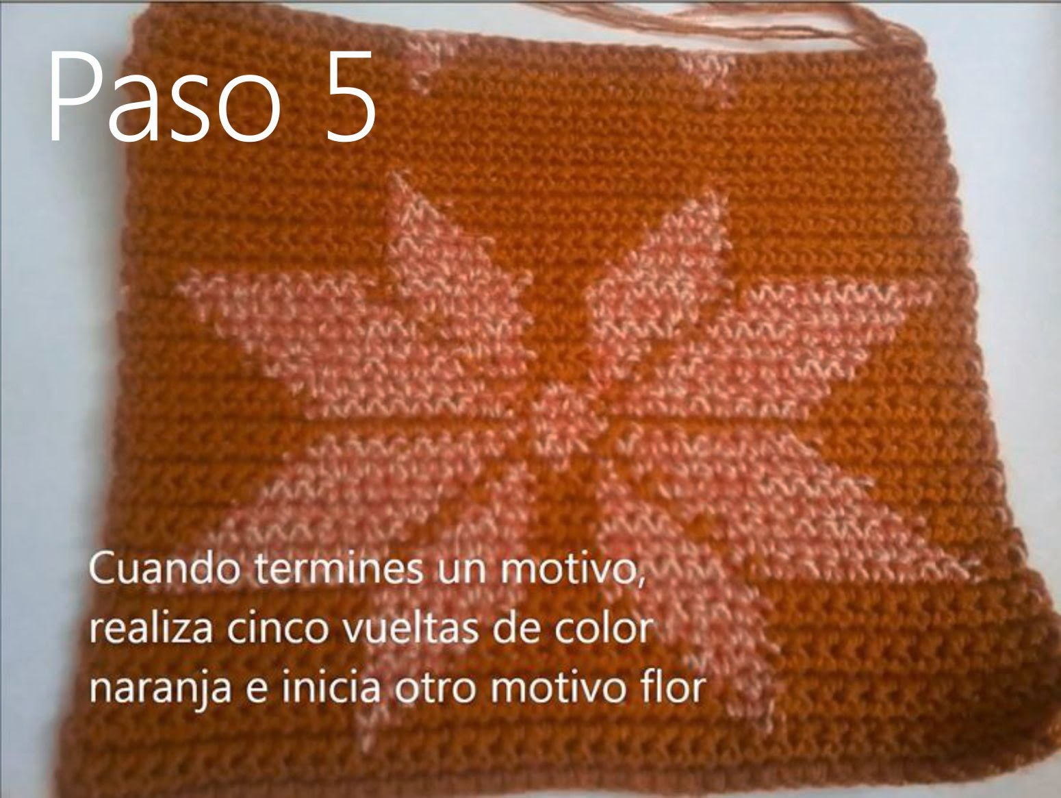 Bolso Naranja Paso 5