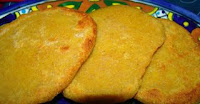 Chinese corn flour flatbread
