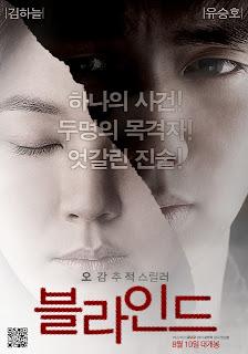Blind poster