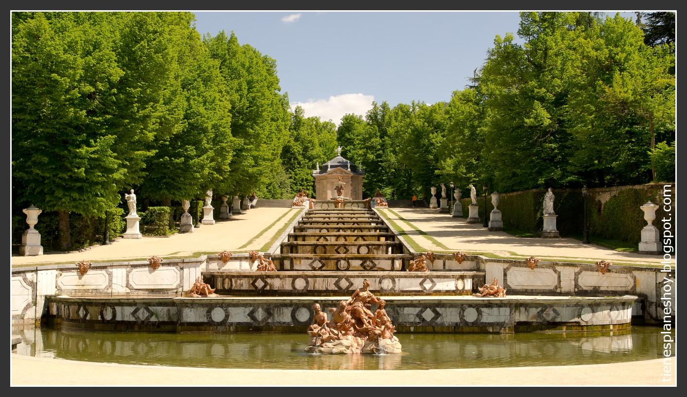 Palacio Real de la Granja de San Ildefonso: unas fuentes para un rey  ¿Tiene...