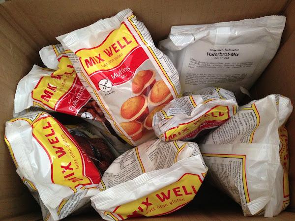glutenfreie Backmischungen von MixWell