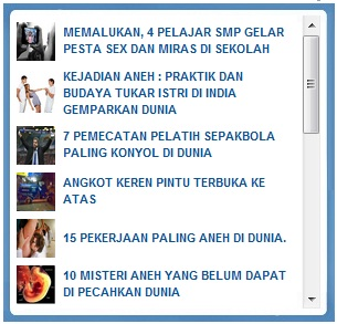 Cara Membuat Recent Post Thumbail Widget Blogger