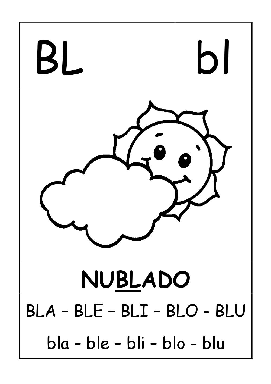 silabas complexas bl br