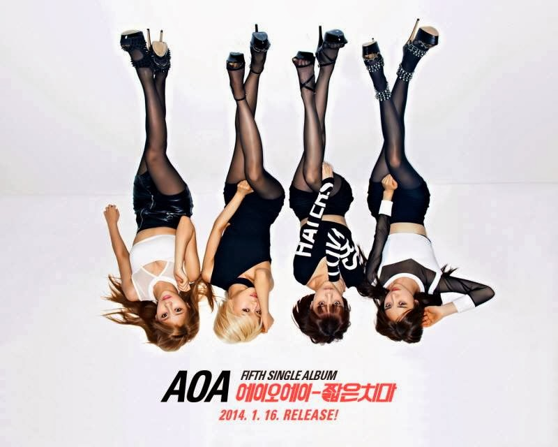 AOA Ace of Angels Miniskirt Concept Photo Sexy