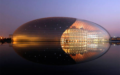 Egg building china national centre for the performing for National centre for the performing arts architecture