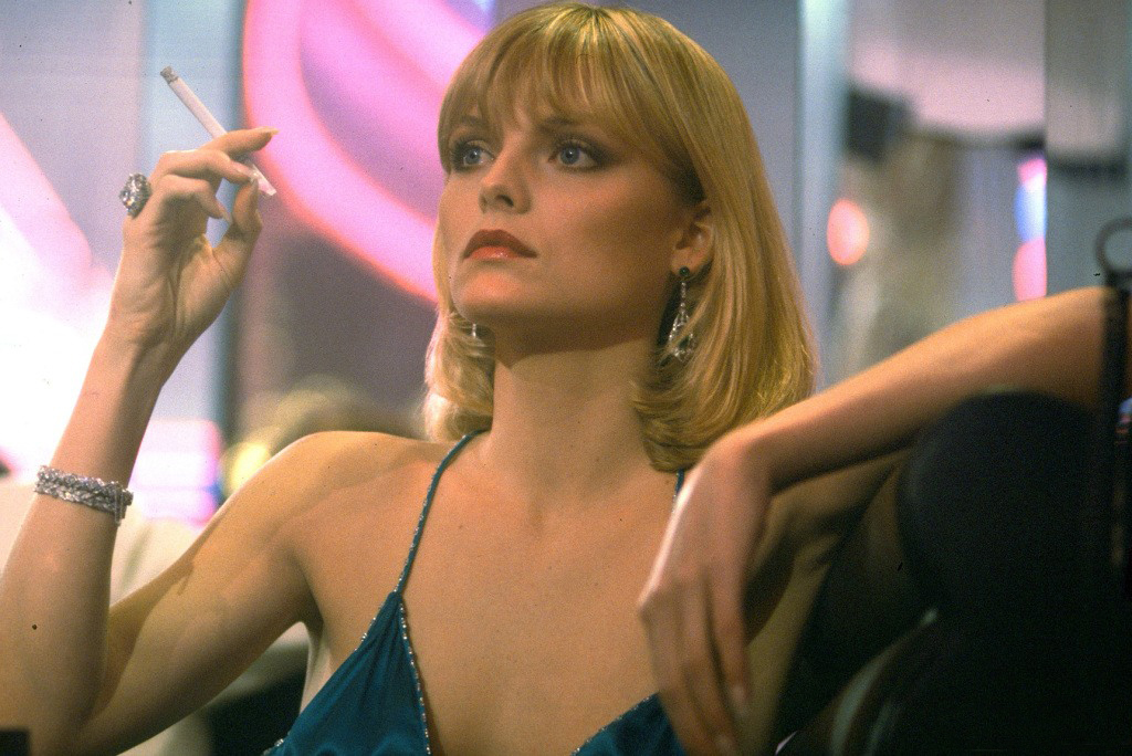 Michelle pfeiffer as elvira hancock scarface movie stills 1982