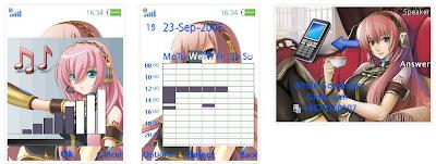 巡音流歌SonyEricsson手機主題for Elm/Hazel/Yari/W20﹝240x320﹞