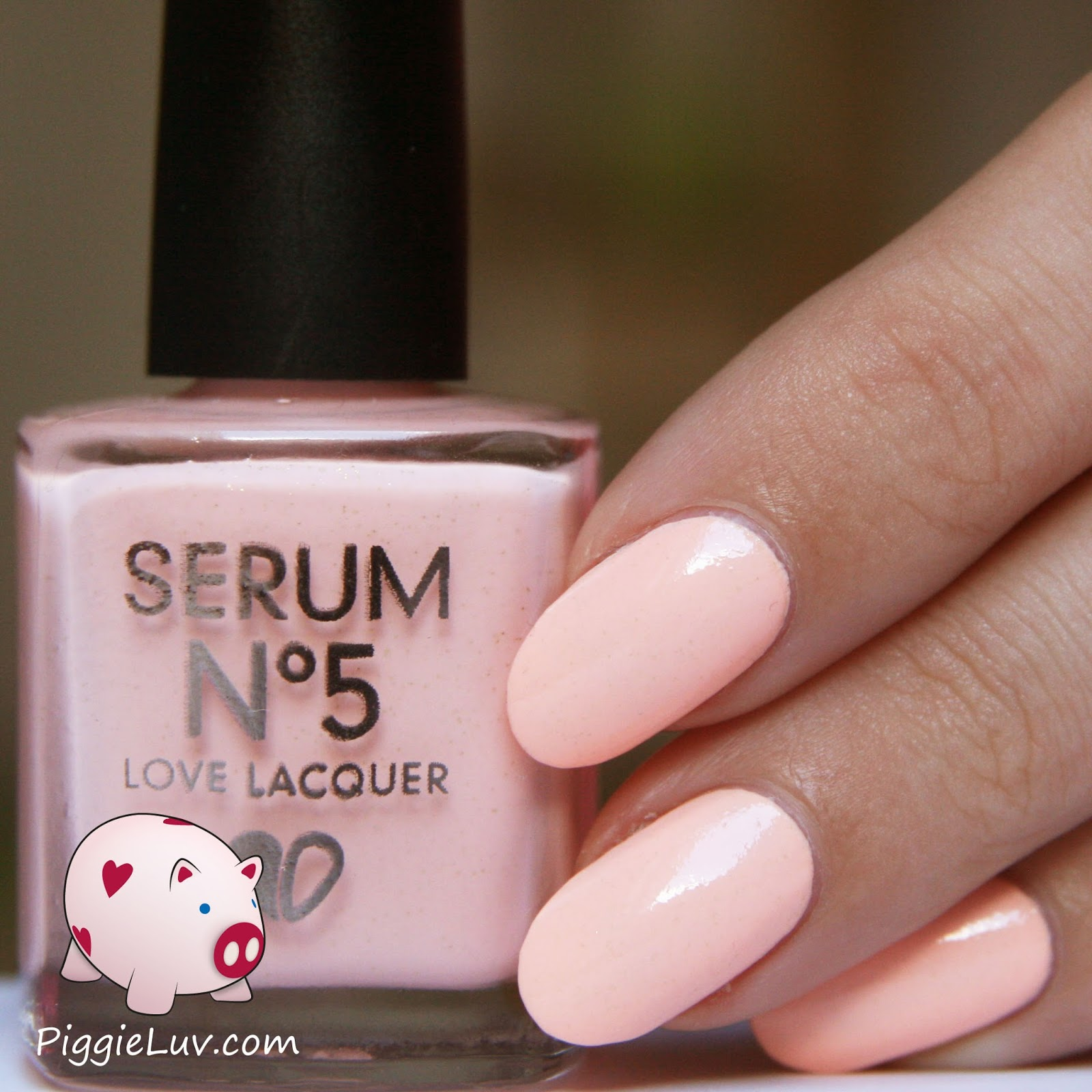 PiggieLuv: Serum No. 5 is glowing places!!!
