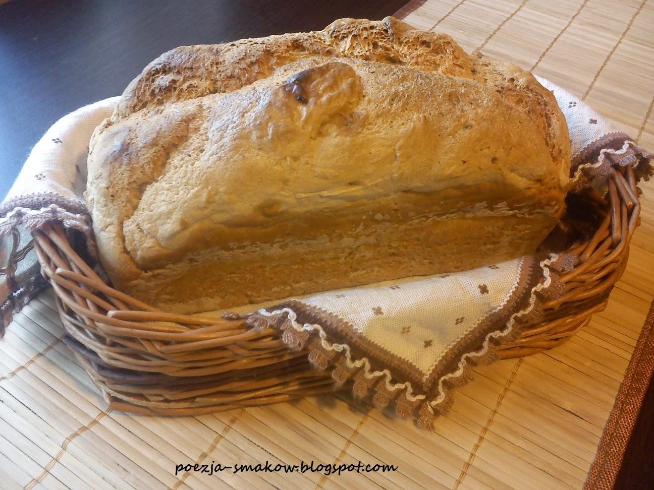 Chleb z mąk mieszanych.