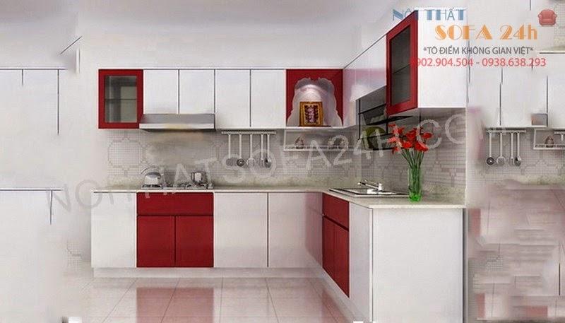 Tủ bếp TB002