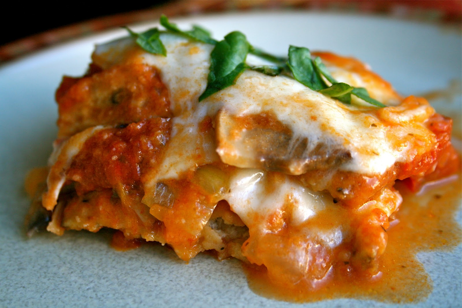 is for: Eggplant Parmesan {gluten free}