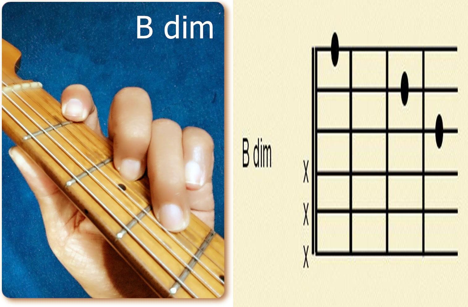 Nice Bdim Piano Chord Gift Beginner Guitar Piano Chords Zhpffo