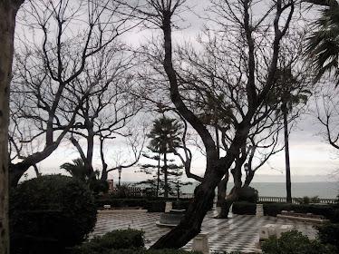 Tarde de lluvia en la Alameda