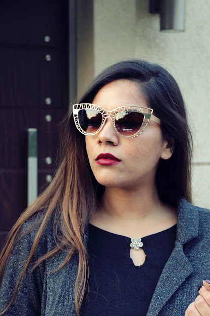 cat eye sunglasses, broach, long coat, stalkbuylove, how to style long coat, fashion, fashionmia, delhi blogger, delhi fashion blogger, indian blogger, indian fashion blogger, winter fashion trends 2016, beauty , fashion,beauty and fashion,beauty blog, fashion blog , indian beauty blog,indian fashion blog, beauty and fashion blog, indian beauty and fashion blog, indian bloggers, indian beauty bloggers, indian fashion bloggers,indian bloggers online, top 10 indian bloggers, top indian bloggers,top 10 fashion bloggers, indian bloggers on blogspot,home remedies, how to