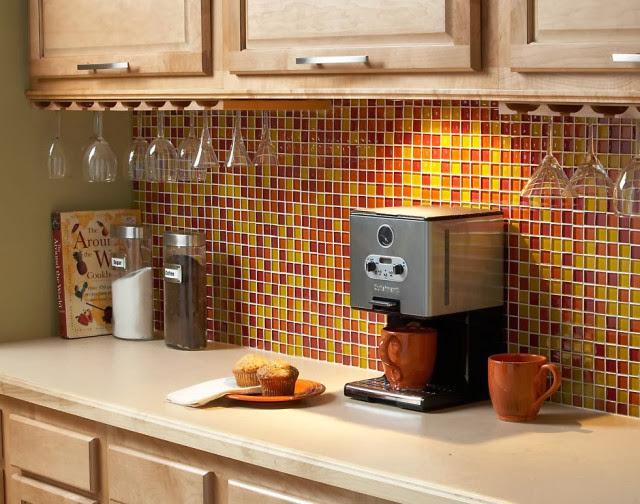 Мозаика в кухне