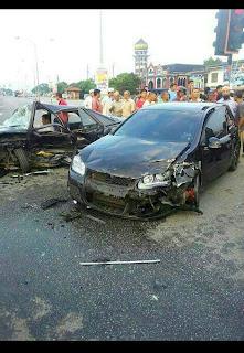 Ustaz Azhar Idrus Kemalangan