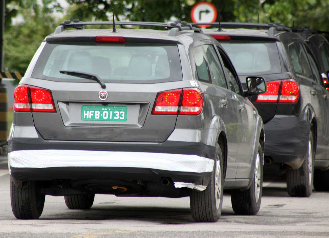 car in Fiat Freemont 2014