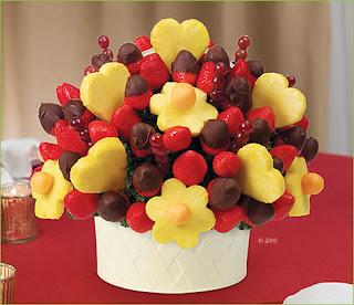 Regalos de San Valentin, Ramos de Fruta.