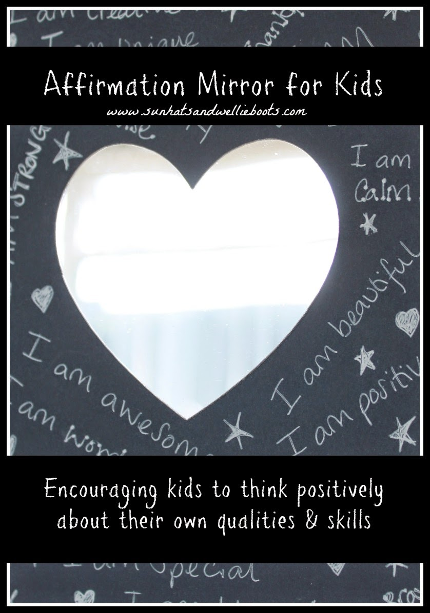 Sun Hats & Wellie Boots: Affirmation Mirrors for Kids ...