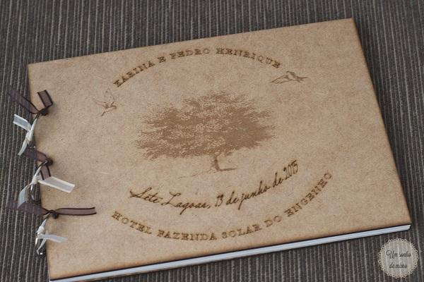 um sonho de mimo, livro de assinaturas, casamento bh, casando em bh. livro assinaturas rústico, noivas de mg