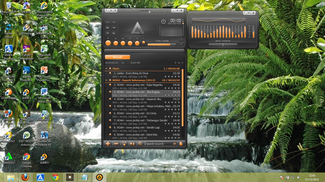Juga bisa berkomentar dibawah. Ahmad Adzan. AIMP v3.20 Build 1165. Faceb