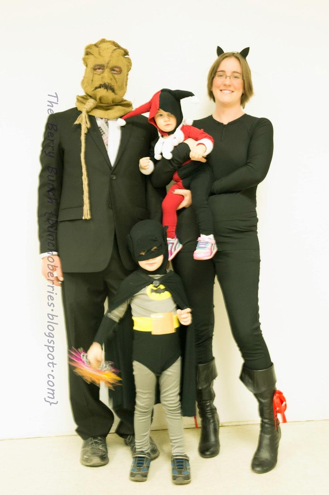 The Berry Bunch: Happy Halloween: Batman Theme Costumes