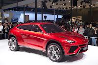 Lamborghini Urus SUV Concept side