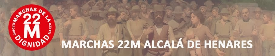 Marchas de la Dignidad Alcalá de Henares