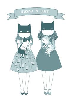 meow & purr