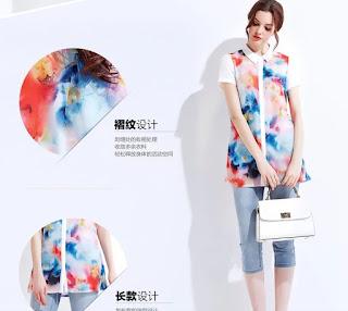 Baju Korea Cewek Model Kemeja
