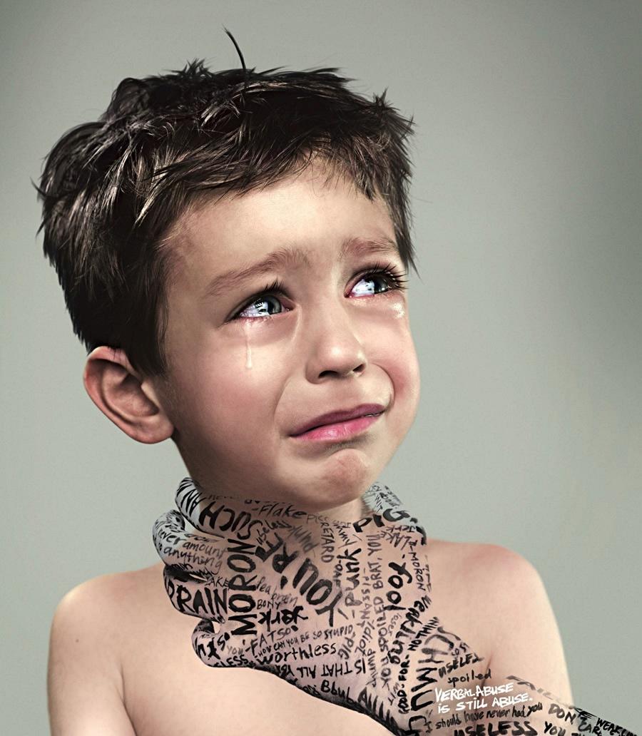 Børnemishandling, verbal vold mod børn