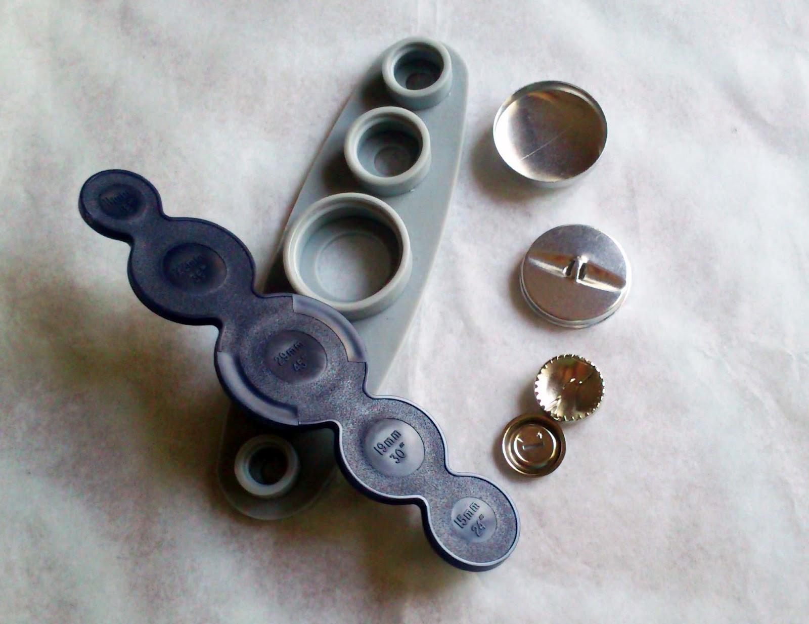 Eurika les cosetes d 39 rica forrar botones - Botones para forrar ...