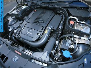 Mercedes c200 engine - صور محرك مرسيدس c200