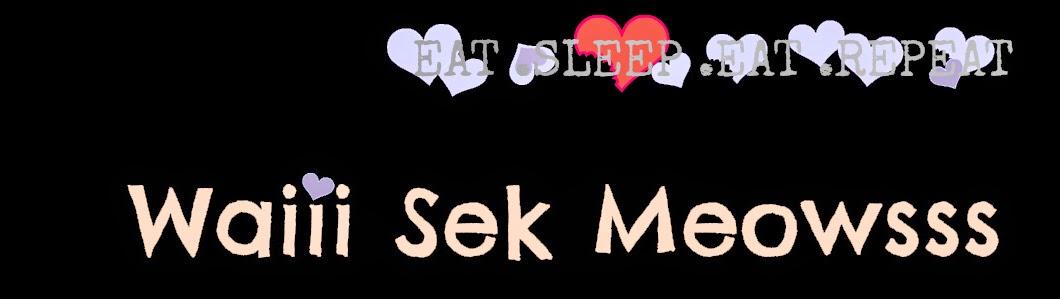 Waiii Sek Meowsss