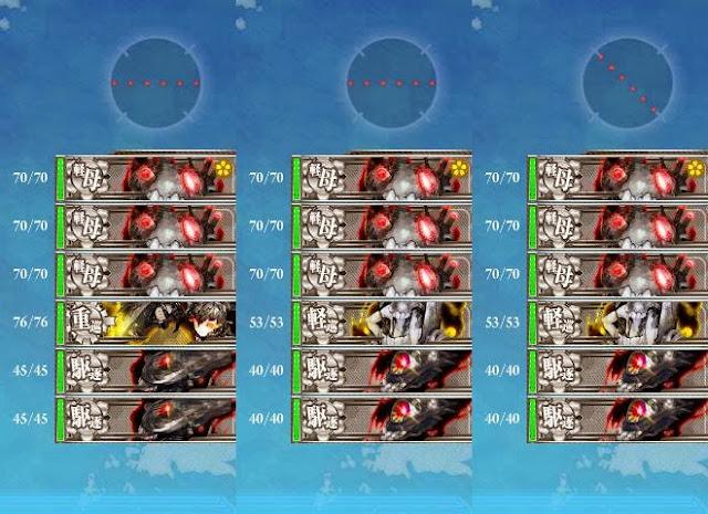 3-1-C 3-1-F 敵編成陣形