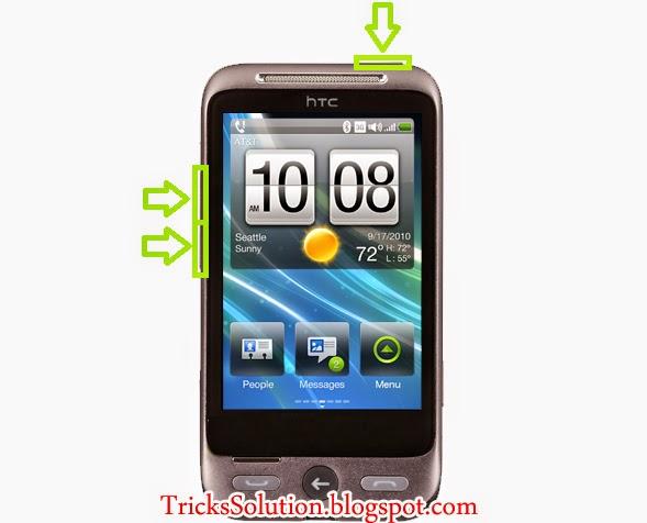 HTC Easy Hard Reset Unlock Security Code