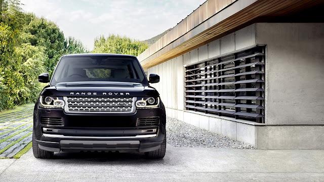 Gorgeous Black Range Rover HD Wallpaper