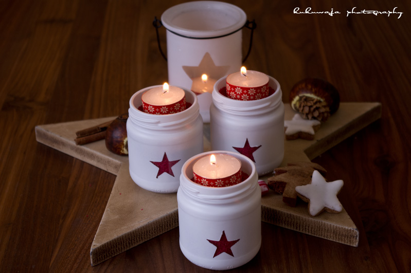 kukuwaja DIY Adventslichter Stars  Advent, Advent, ein Lichtlein