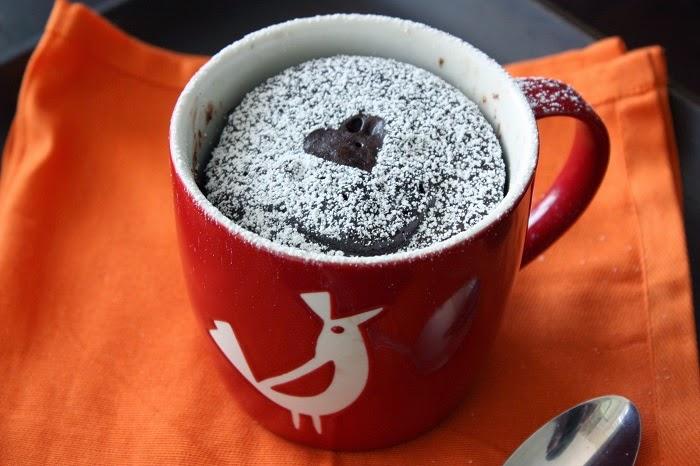 Hacer un Mug Cake