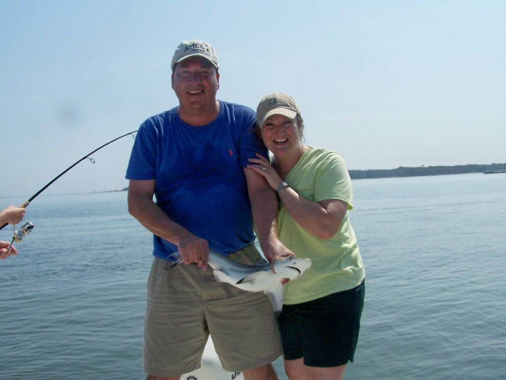 Amelia island fishing reports double up on shark for Amelia island fishing