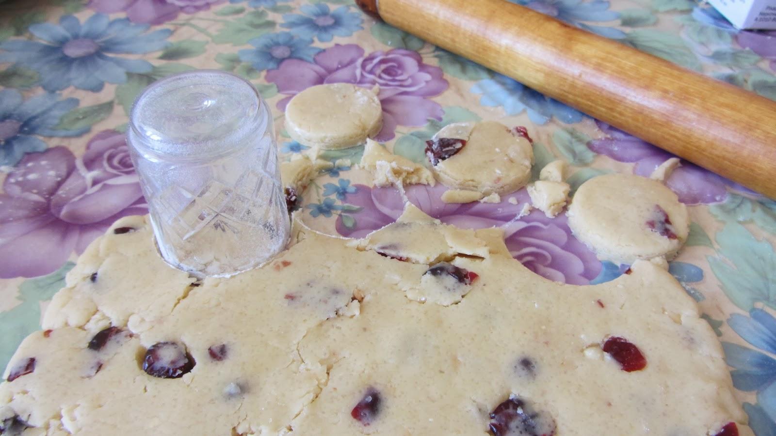 делаем круглые печеньки