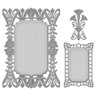 SBS6-075 Spellbinders Nestabilities Astoria Decorative Accent