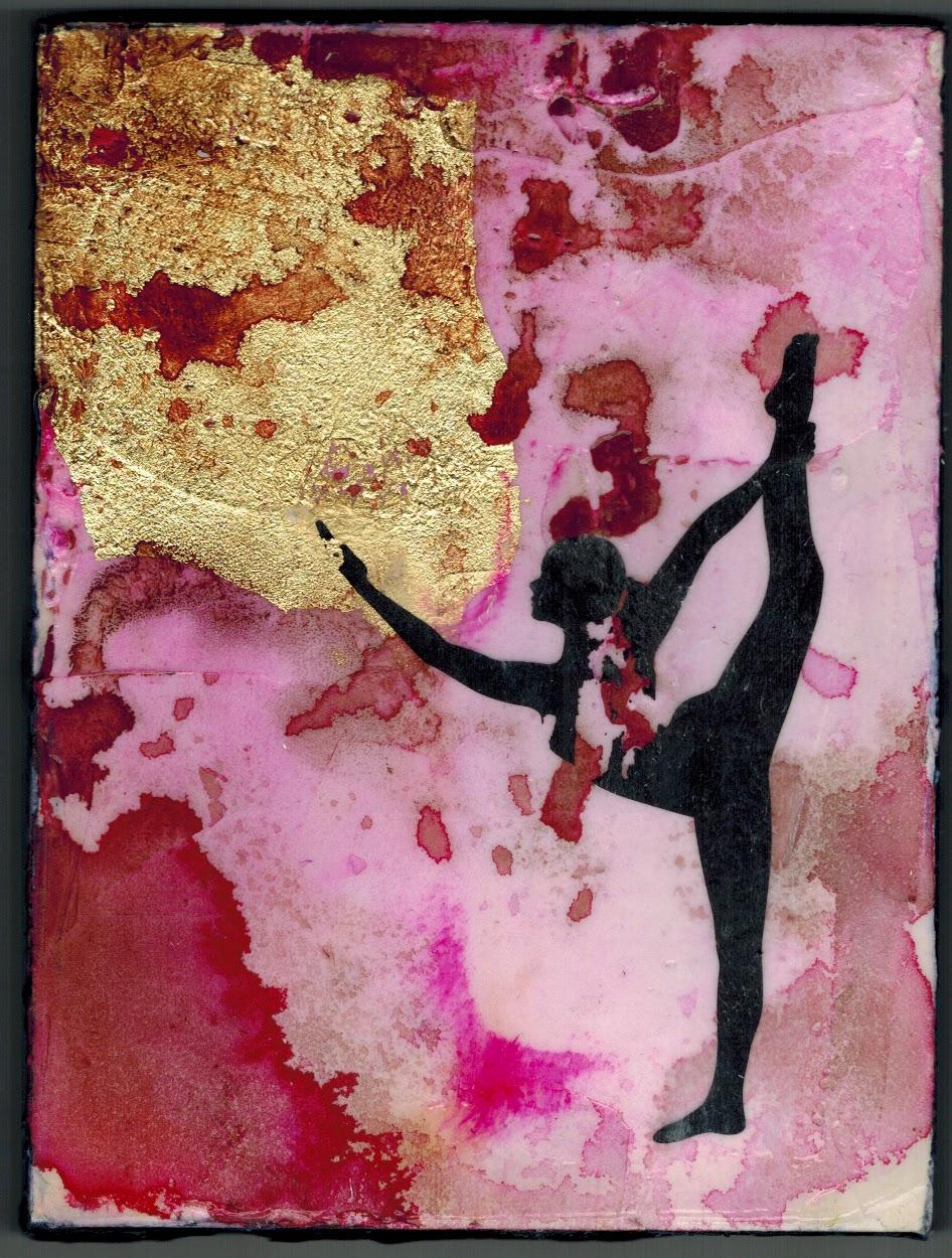 Meet the yoga girls new paintings