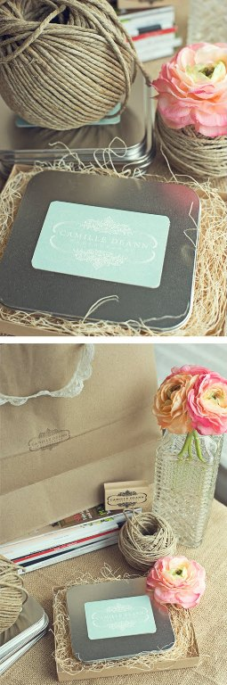 semplicemente perfetto wedding packaging inspiration shabby chic